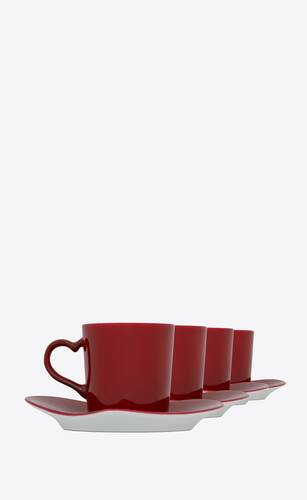 j.l coquet coffee set in porcelain