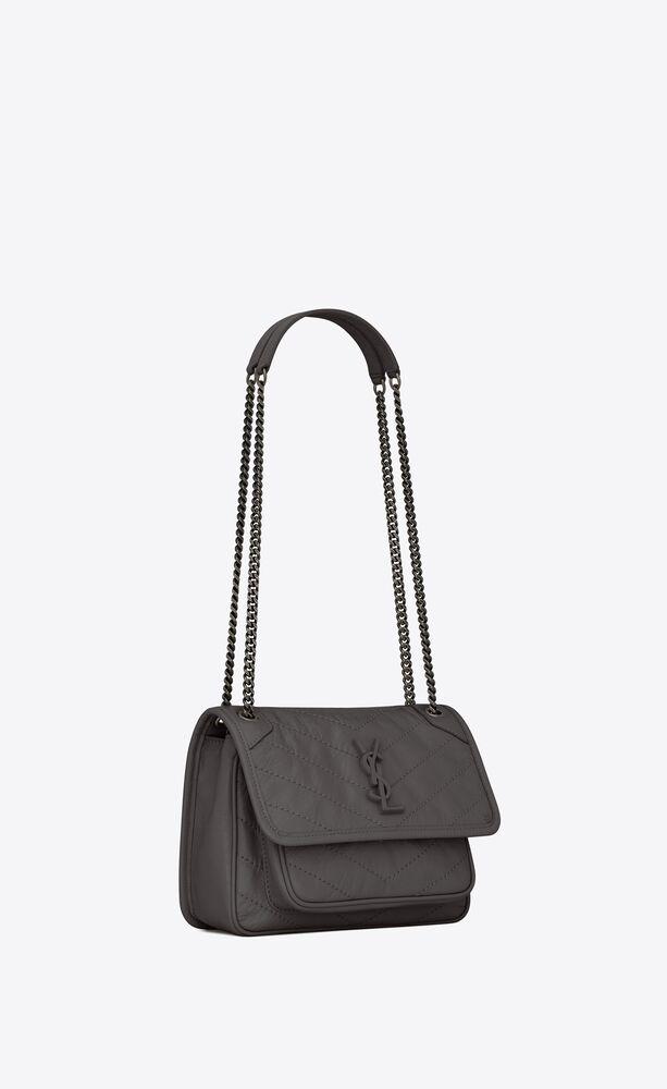 niki baby in crinkled vintage leather