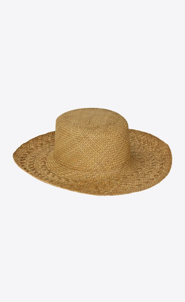 straw honolulu hat