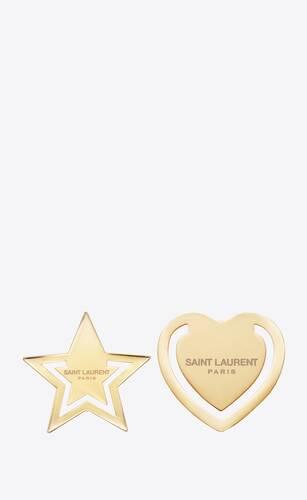 gold metal bookmarks