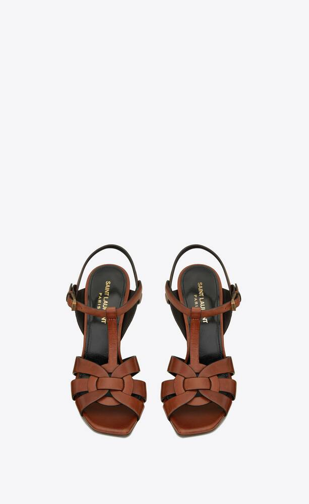 sandali tribute in pelle liscia