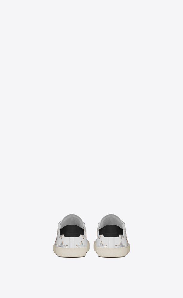 court classic sl/06 metallic california sneakers in leather