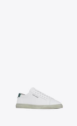 andy sneakers en cuir lisse