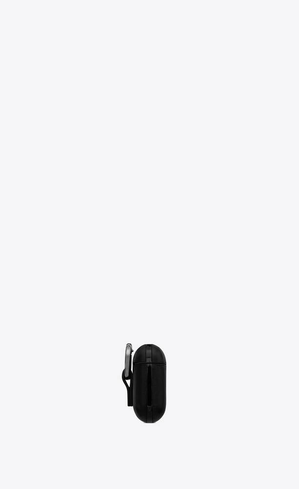 saint laurent airpods case in smooth leather