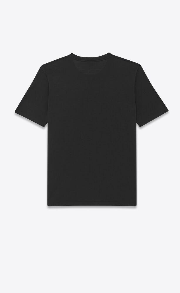 monogram t-shirt in silk wool