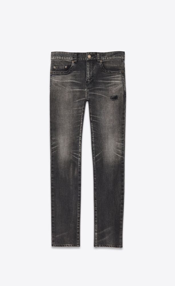 tokyo black stretch denim skinny jeans