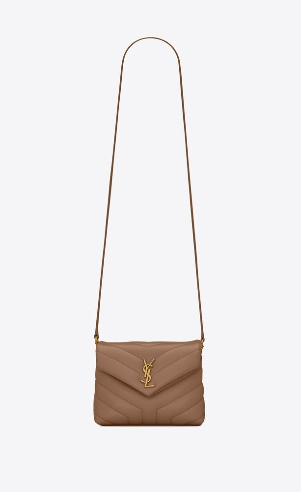 loulou toy bag in y-quilted leather