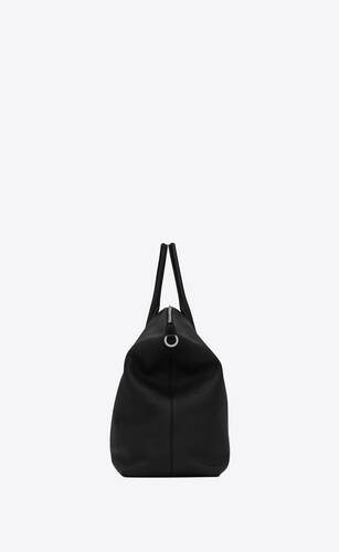 giant bowling bag in soft grained leather