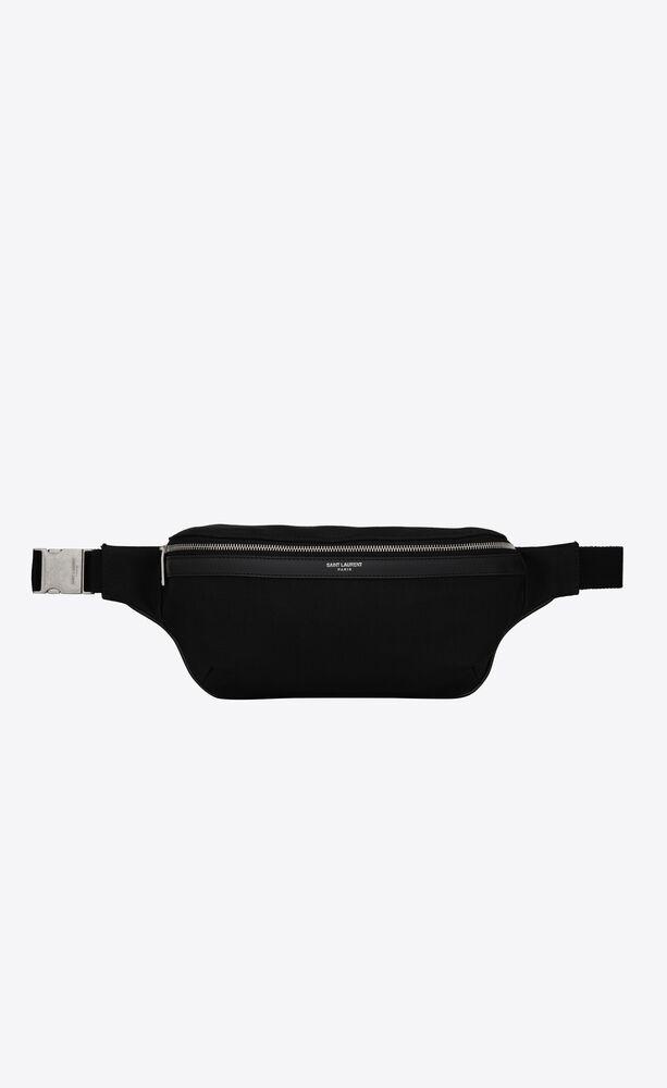 classic sac ceinture en toile