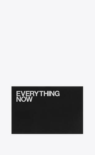 """""""everything now"""" postcard"""