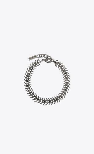 metal herringbone chain bracelet