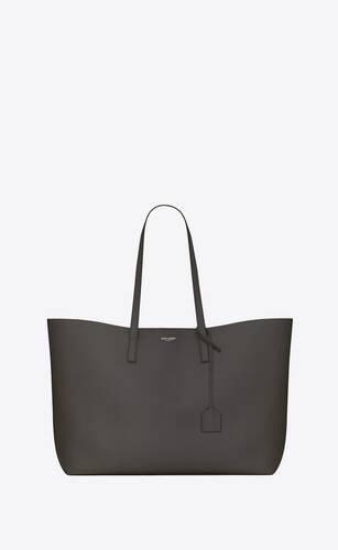 shopping bag saint laurent e/w in pelle morbida