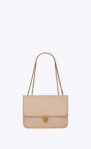 tuc chain bag en cuir box saint laurent