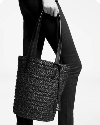 panier small bag in raffia