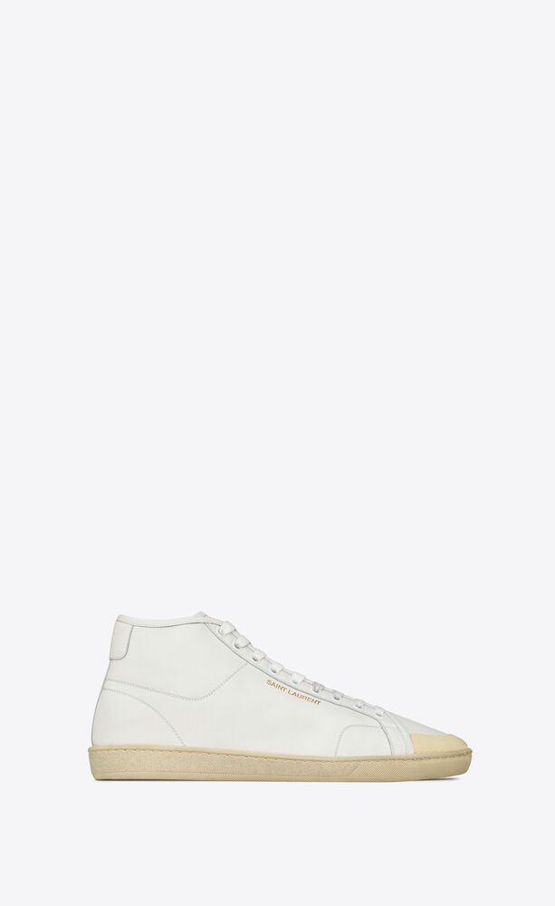 sneakers de media caña court classicsl/39 de piel granulada