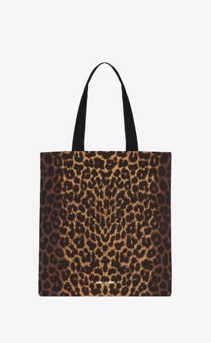 leopard print totebag