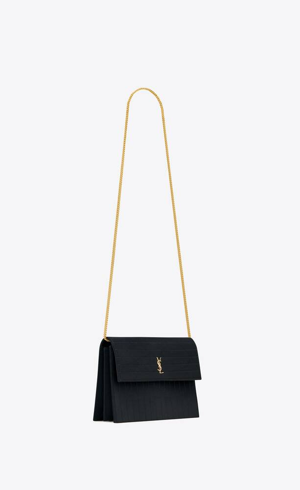 victoire chain bag in satin