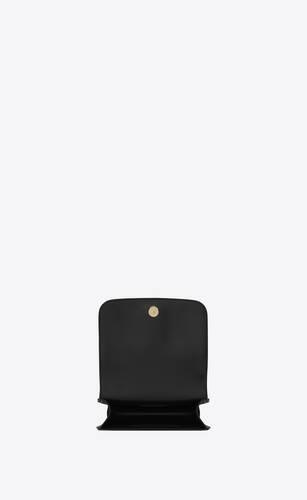 spontini small satchel en cuir lisse