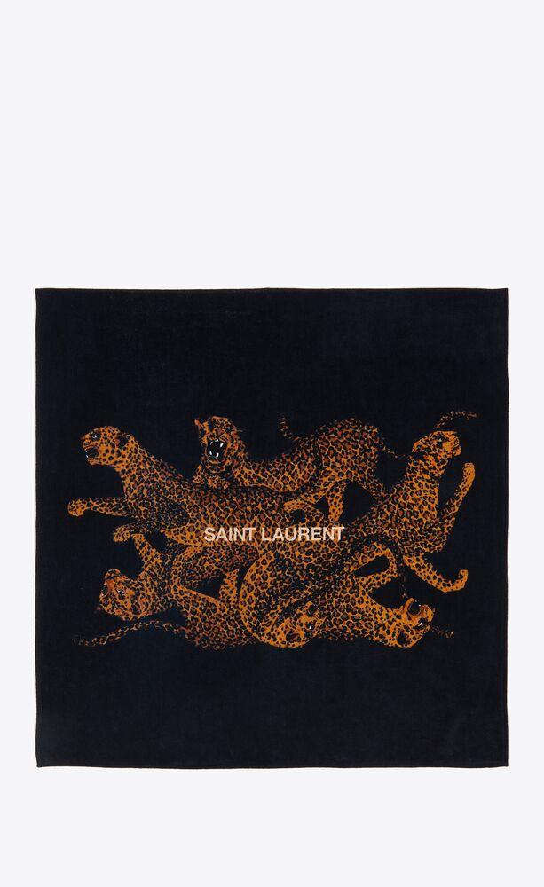 marrakesh leopard towel