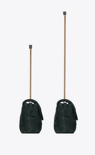 loulou small bag in y-quilted suede