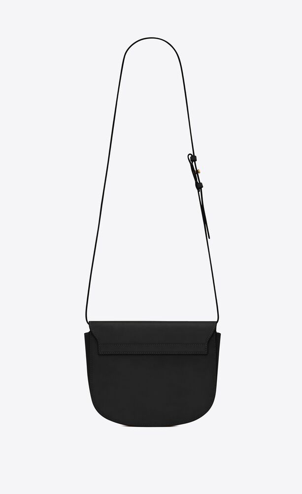 kaia medium satchel en cuir lisse