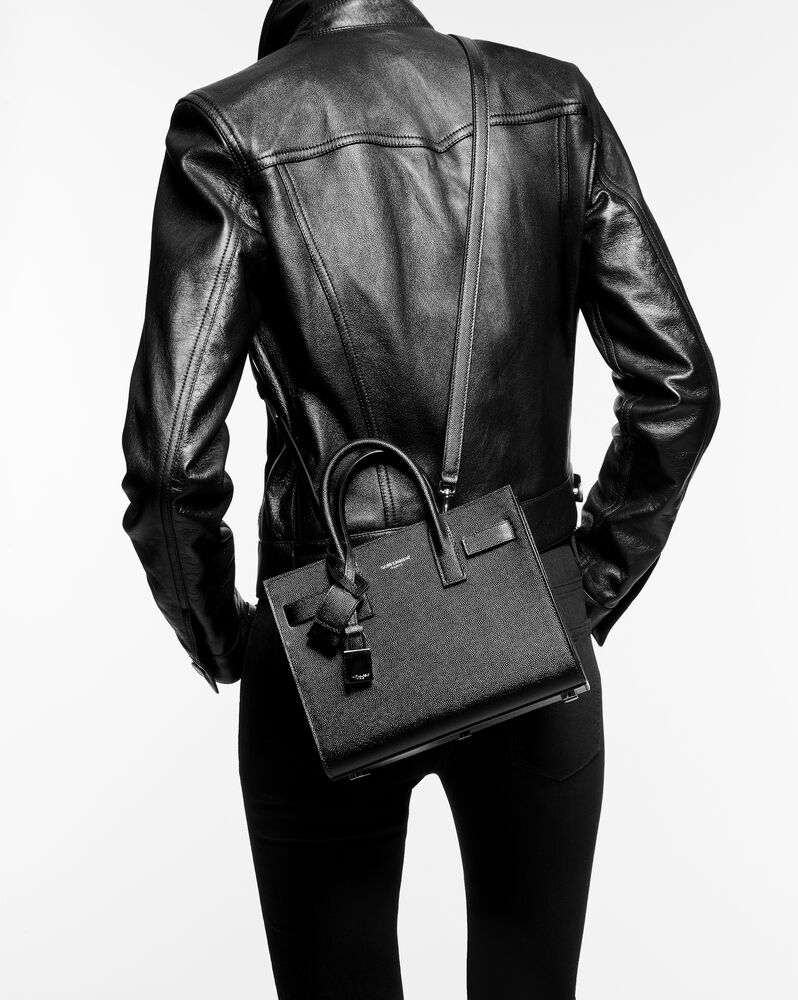 classic sac de jour nano in grain de poudre embossed leather