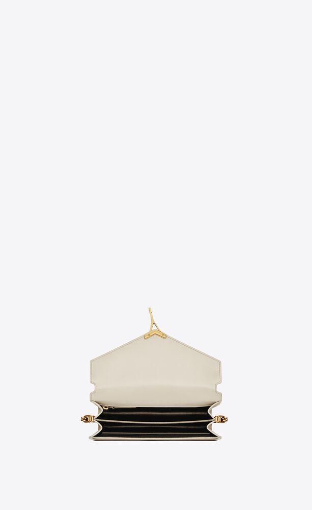 cassandra monogram clasp bag in smooth leather