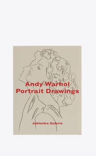 "andy warhol  ""portrait drawings"""