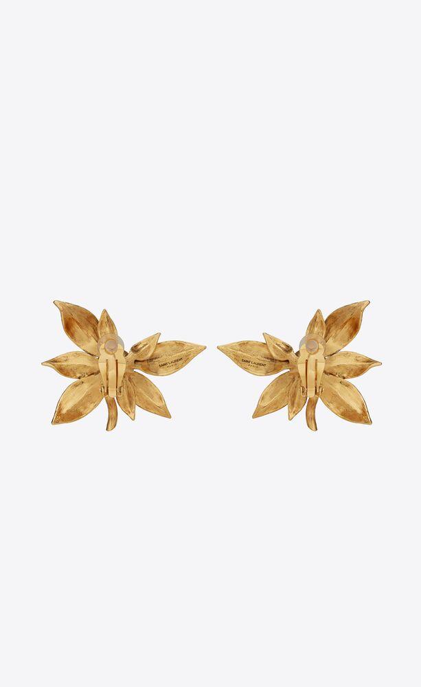 fruit earrings in metal