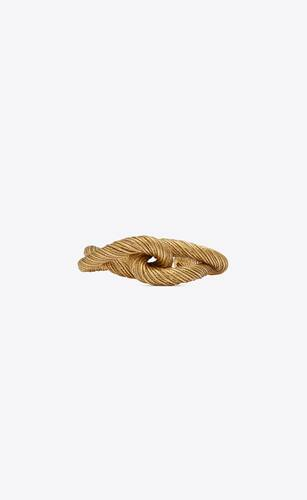 sailing knot cuff bracelet in metal