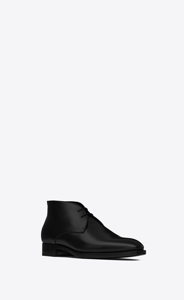 adrien desert boots in smooth leather