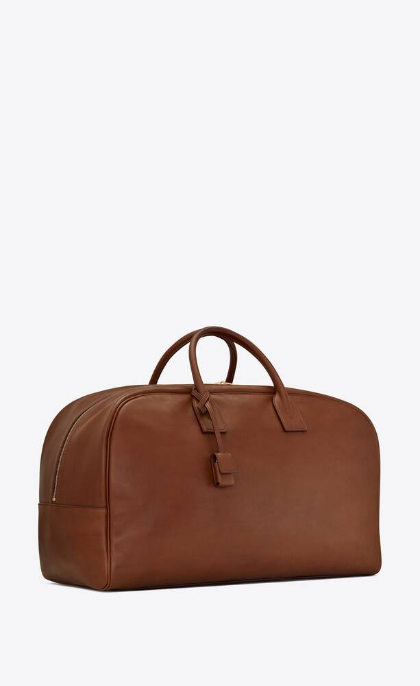 bowling bag in saddle leather