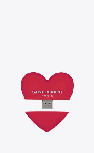 heart-shaped usb flash drive