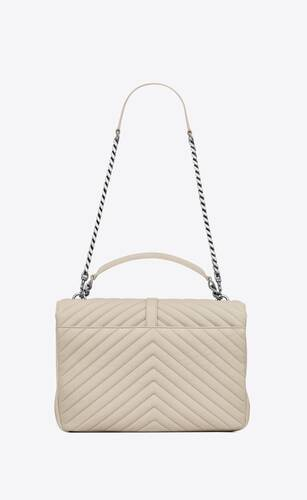 college large in quilted leather