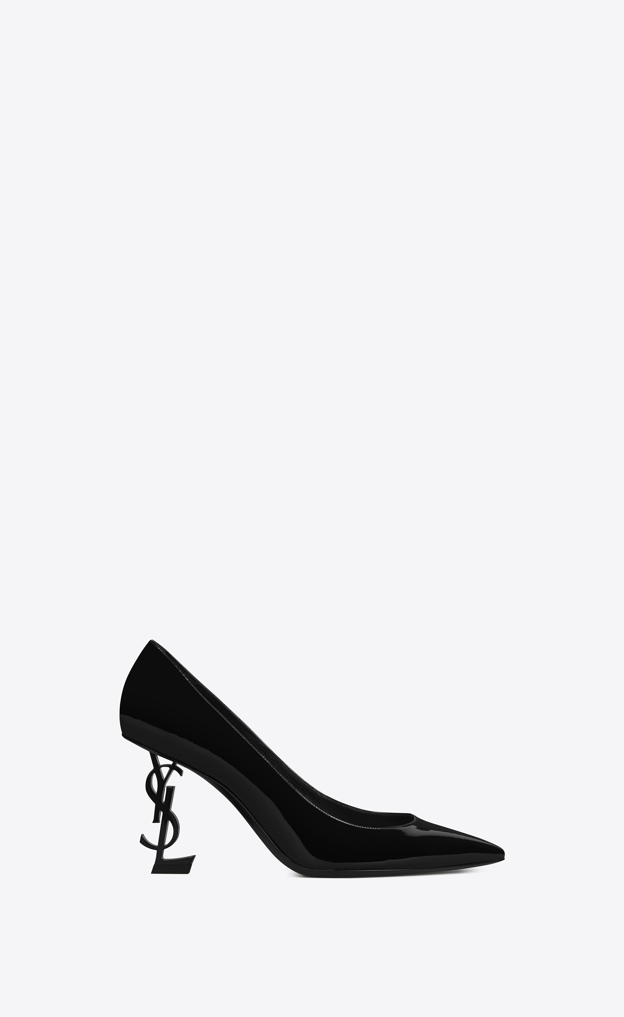 opyum pumps in patent leather with