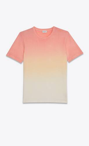 ribbed tie-dye sunset t-shirt