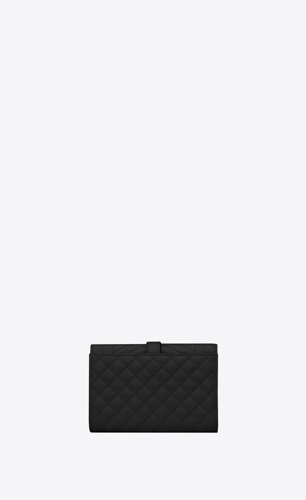 monogram kleines portemonnaie mit umschlag aus mix matelassé leder mit grain-de-poudre-prägung