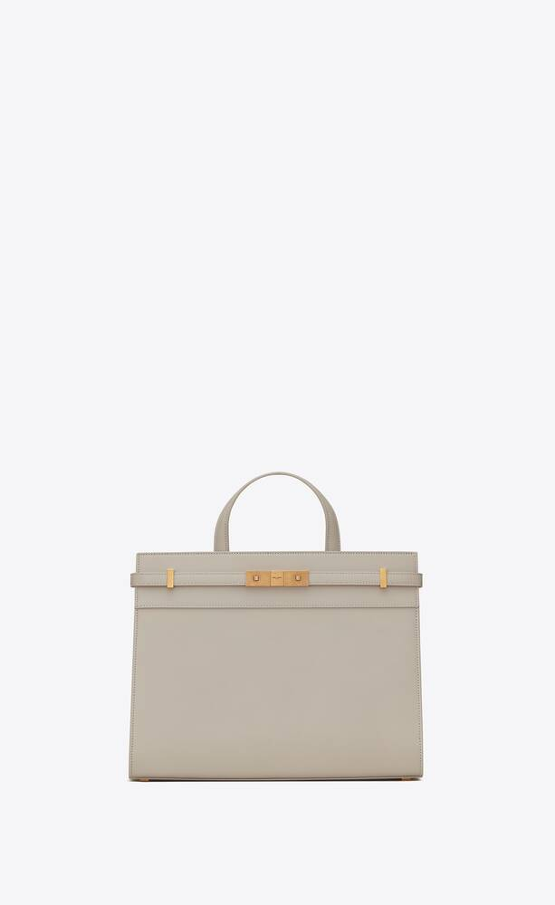 manhattan small shopping bag in smooth leather