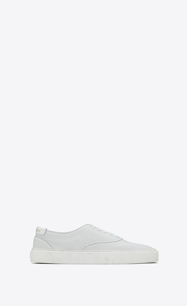 venice sneakers in perforated leather