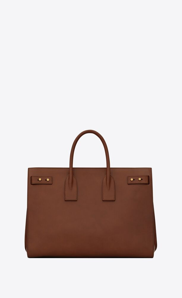 sac de jour thin large in smooth leather