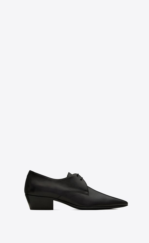 billy laced derbies in smooth leather
