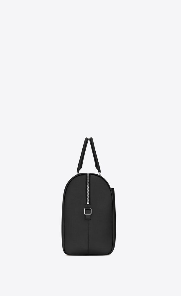 24-hour duffle bag in grain de poudre embossed leather