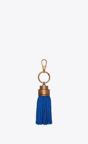 tassel keychain in passementerie