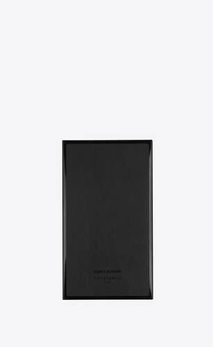 thibierge notebook in leather and metal