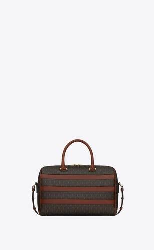 le monogramme saint laurent duffle 6 in canvas and smooth leather