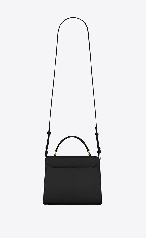 cassandra mini top handle bag in box saint laurent leather
