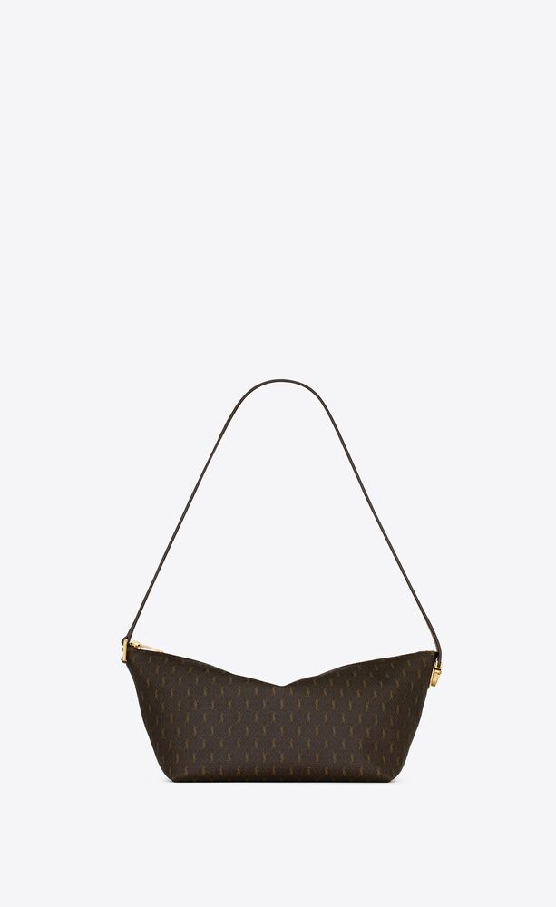 le monogramme crossbody bag in monogram canvas and smooth leather