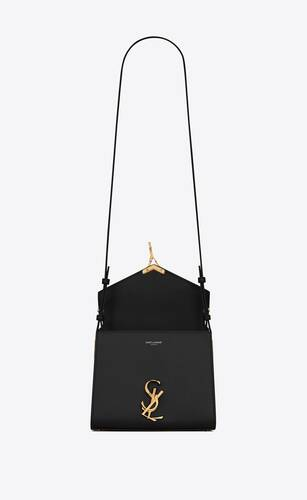 cassandra mini top handle en cuir box saint laurent