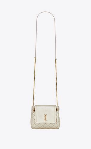 monogram nolita mini-tasche aus lammleder