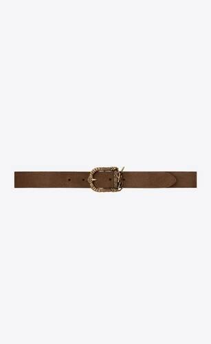 celtic belt in vintage suede